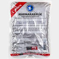 Турецкие оливки черные с косточкой (маслины) 500 г Marmarabirlik L