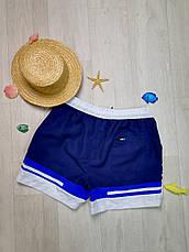 Шорты пляжные мужские сине-белые -158-04, фото 3