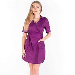 Женский медицинский халат Токио фиолетовый