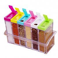 Набор емкостей для специй из 7 контейнеров