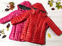 Детская удлиненная куртка осень-зима на девочку 2, 4, 5, 6, 7 лет, LOSAN, Испания