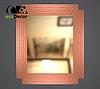 Зеркало настенное Rome в белой с золотом раме, фото 7