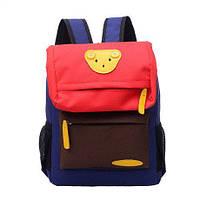 Рюкзак детский школьный Мишка Синий