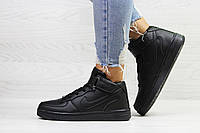 Зимние женские кроссовки в стиле Nike Air Force