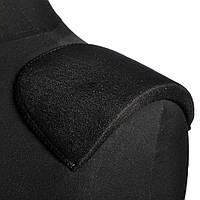 Плечові накладки поролон обшиті трикотажем 10х110х165 чорні (54201.001)