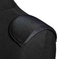 Плечові накладки поролон обшиті трикотажем 7х90х155 чорні (54202.001)
