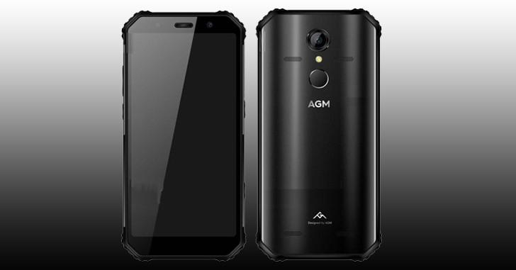 Анонсирован новый защищенный смартфон AGM A9