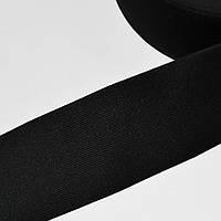 Стрічка еластична 80мм чорна (54526.001)