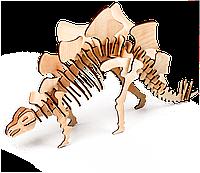 Стегозавр 3D конструктор деревянный эко пазл-раскраска Гарантия качества Быстрая доставка