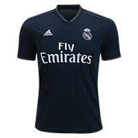 Футбольная форма Реал Мадрид (Real Madrid) 2018-2019 Выездная детская 1e9d6d2b64a