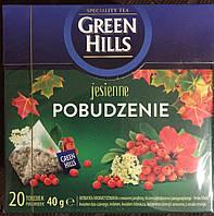 Чай Green Hills (рябина, липа, гибискус, манго), 20 пакетиков, Польша