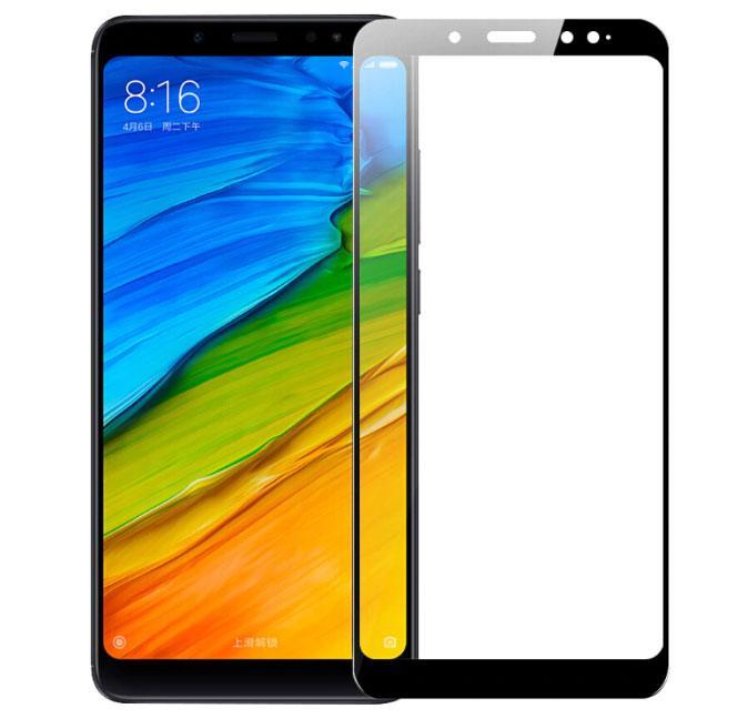 Full Glue защитное стекло для Xiaomi Redmi Note 5 / Note 5 Pro - Black