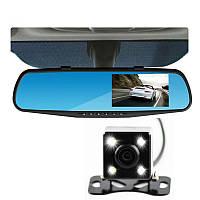 Відеореєстратор у вигляді дзеркала з камерою заднього виду Vehicle Blackbox DVR