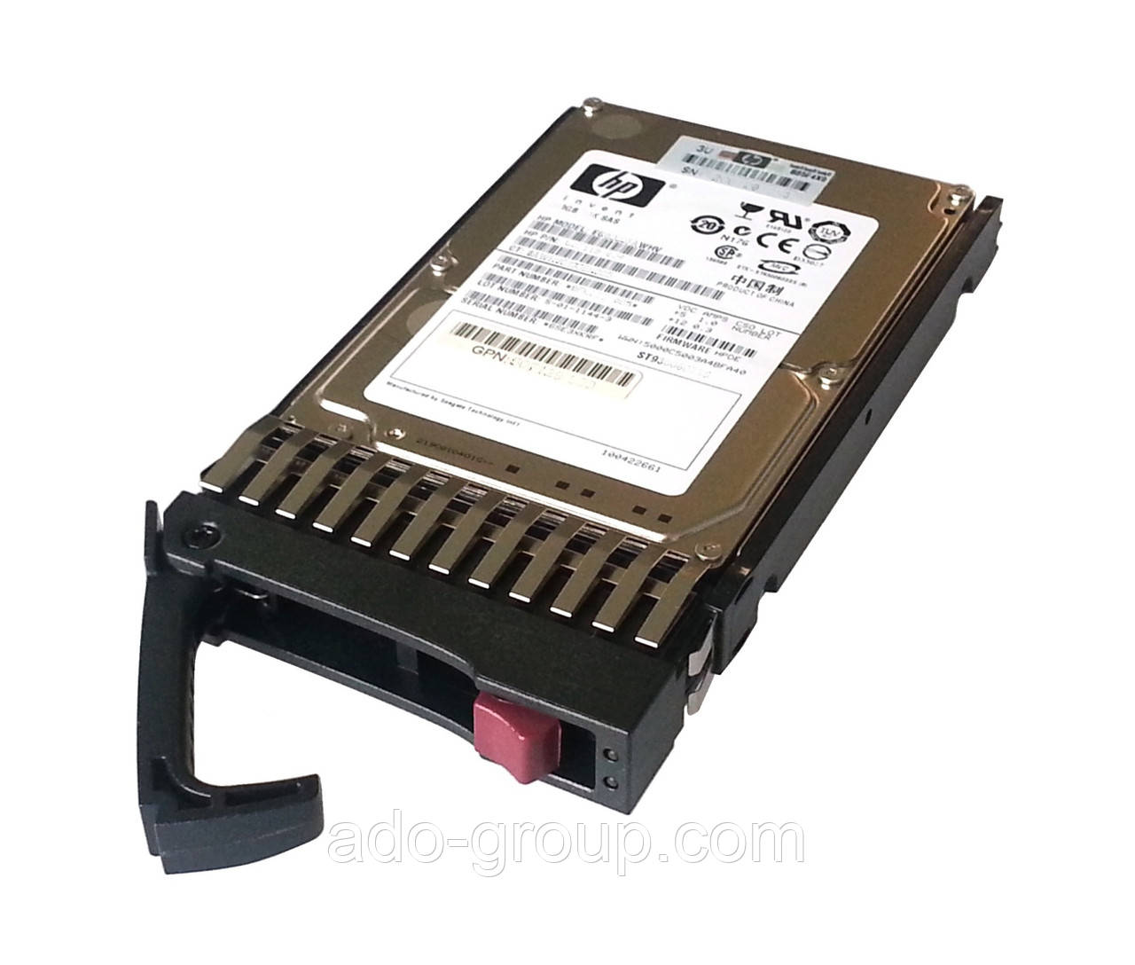 "619291-B21 Жесткий диск HP 900GB SAS 10K 6G DP 2.5"""