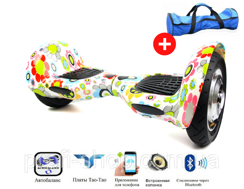 Гироскутер Smart Balance Allroad 10 Flowers (цветочный)
