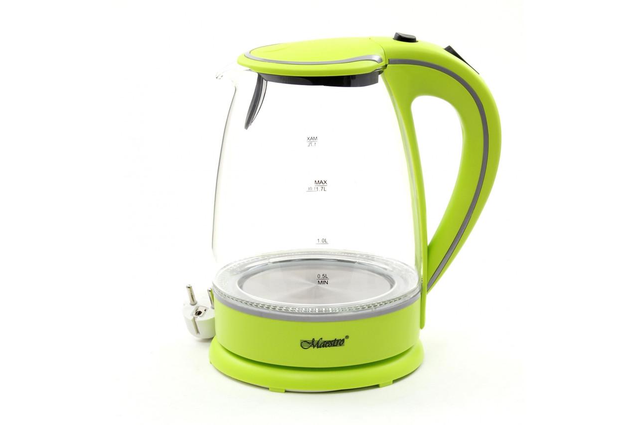 Электрический чайник Maestro MR-064 зеленый