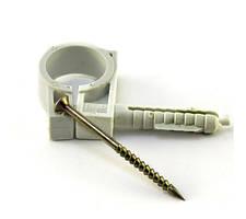 Обойма для труб и кабеля с ударным шурупом 13-14мм Wave