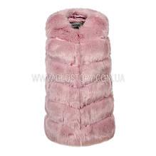 Женская розовая жилетка, Glo-Story