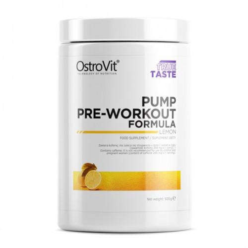 Предтренировочный комплекс OstroVit - PUMP Pre-Workout Formula (500 грамм) lemon/лимон