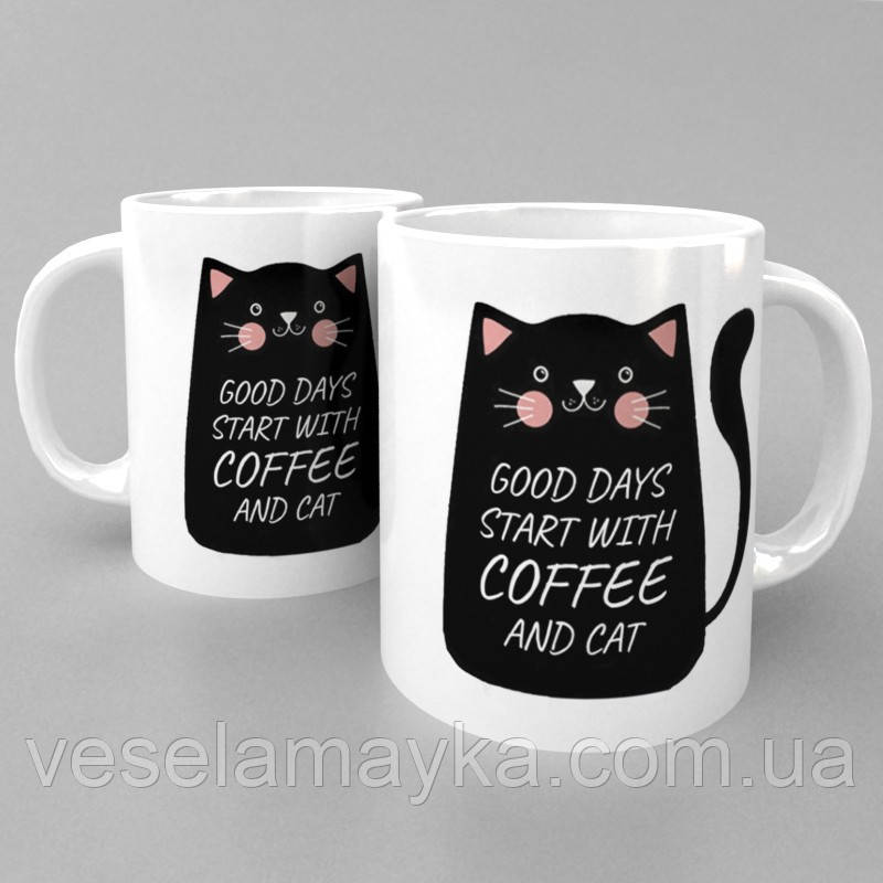 Чашка Coffee and cat (Кофе и кот)