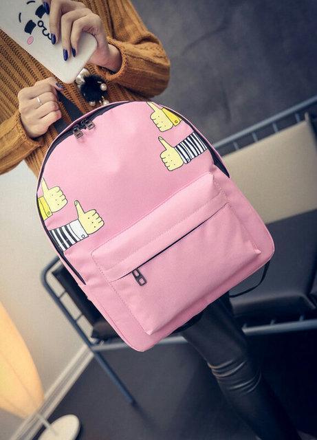 Рюкзак городской молодежный Like Розовый