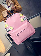 Рюкзак городской молодежный Like Розовый, фото 1
