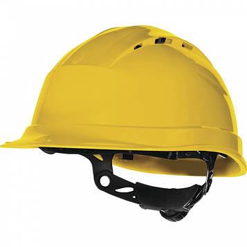 Каска защитная  DELTA PLUS QUARTZ UP III цв. желтый
