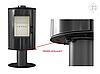 Отопительная печь Kratki Koza AB S/N/O (8 кВт), фото 5