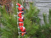Три Деда Мороза на лестнице, фото 1