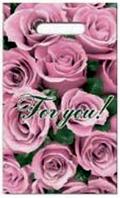 Пакет с прорезной ручкой «For you»