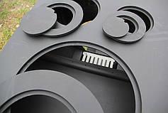 """Булерьян с конвекцией """"Рождественская"""" + вторичный дожиг печных газов, сталь 4-8 мм, фото 2"""