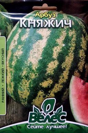 Семена арбуза Княжич 10г, фото 2