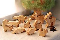 Современные экологически безопасные деревянные игрушки