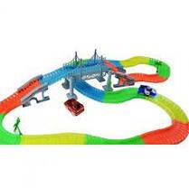 Детский гоночный трек Magic Tracks FYD170209-A. 360 деталей. Мост, фото 2