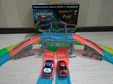 Детский гоночный трек Magic Tracks FYD170209-A. 360 деталей. Мост, фото 3