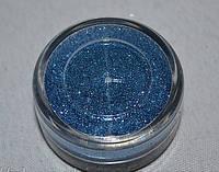 Песок для дизайна ногтей Синий.