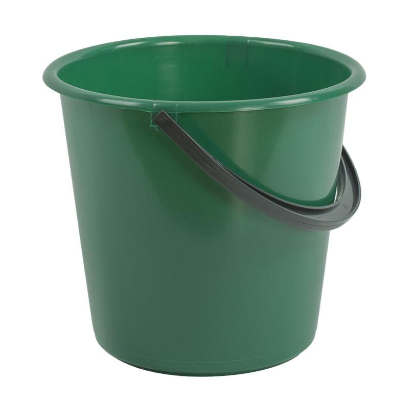 Ведро пластиковое 7л (сорт 2), (цветное), без крышки