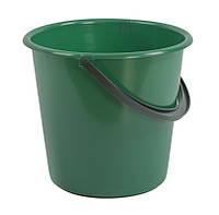 Ведро пластиковое 7л (сорт 2), (цветное), без крышки, фото 1