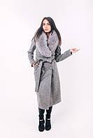 Пальто зимнее серое O.Z.Z.E Д271