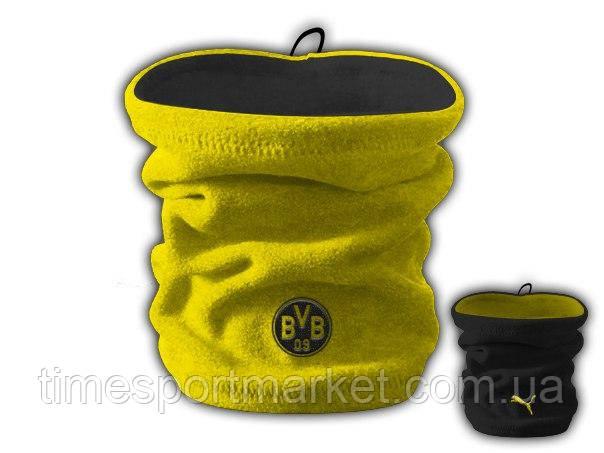 Горловик (Баф) Боруссия двусторонний желтый-черный