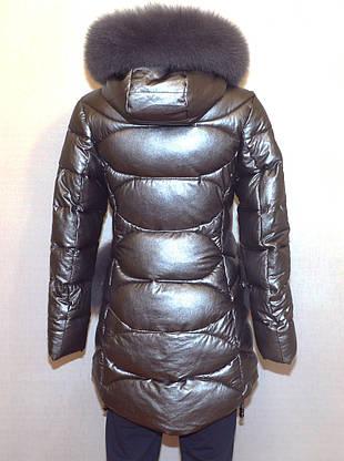 237e17bb8e4 модная зимняя куртка экокожа Qarlevar 6070 S м в умани от компании