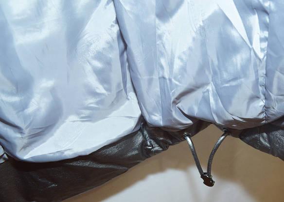 Модная зимняя куртка экокожа Qarlevar 6070 ( S, L), фото 2