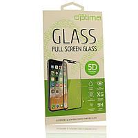 Защитное стекло Optima 5D на весь экран для Huawei P Smart (Хуавей П Смарт, Енджой 7 с)