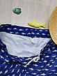 """Шорты мужские пляжные синие """"акулы"""" - 159-02-1, фото 6"""