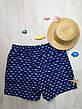 """Шорты мужские пляжные синие """"акулы"""" - 159-02-1, фото 3"""