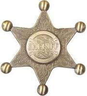 Спиннер MT-18 Sherif Star Gold