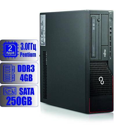 Системный блок Fujitsu 2-ядра 3.0GHz/DDR3-4Gb/HDD-250Gb, фото 2