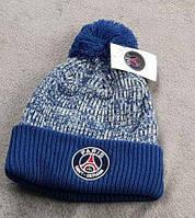 Футбольная шапка ПСЖ (синяя)