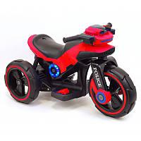 Електричний трицикл Police Red