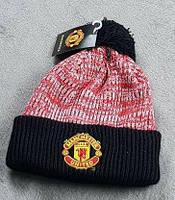 Футбольная шапка Манчестер Юнайтед (красная)